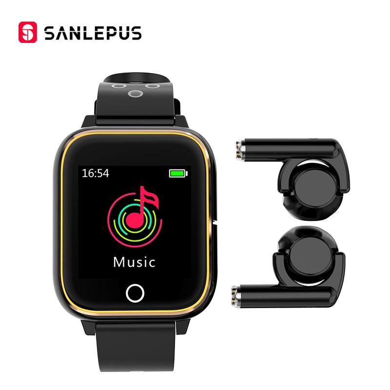 Permalink to 2021 SANLEPUS Smart Watch With Wireless Headphones MP3 Fitness Bracelet Men Women Smartwatch For Android iOS Apple Xiaomi