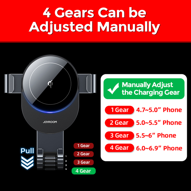 15W Qi Car Phone Holder Wireless Charger Car Mount Intelligent Infrared for Air Vent Mount car charger wireless For iPhone12 pro 2