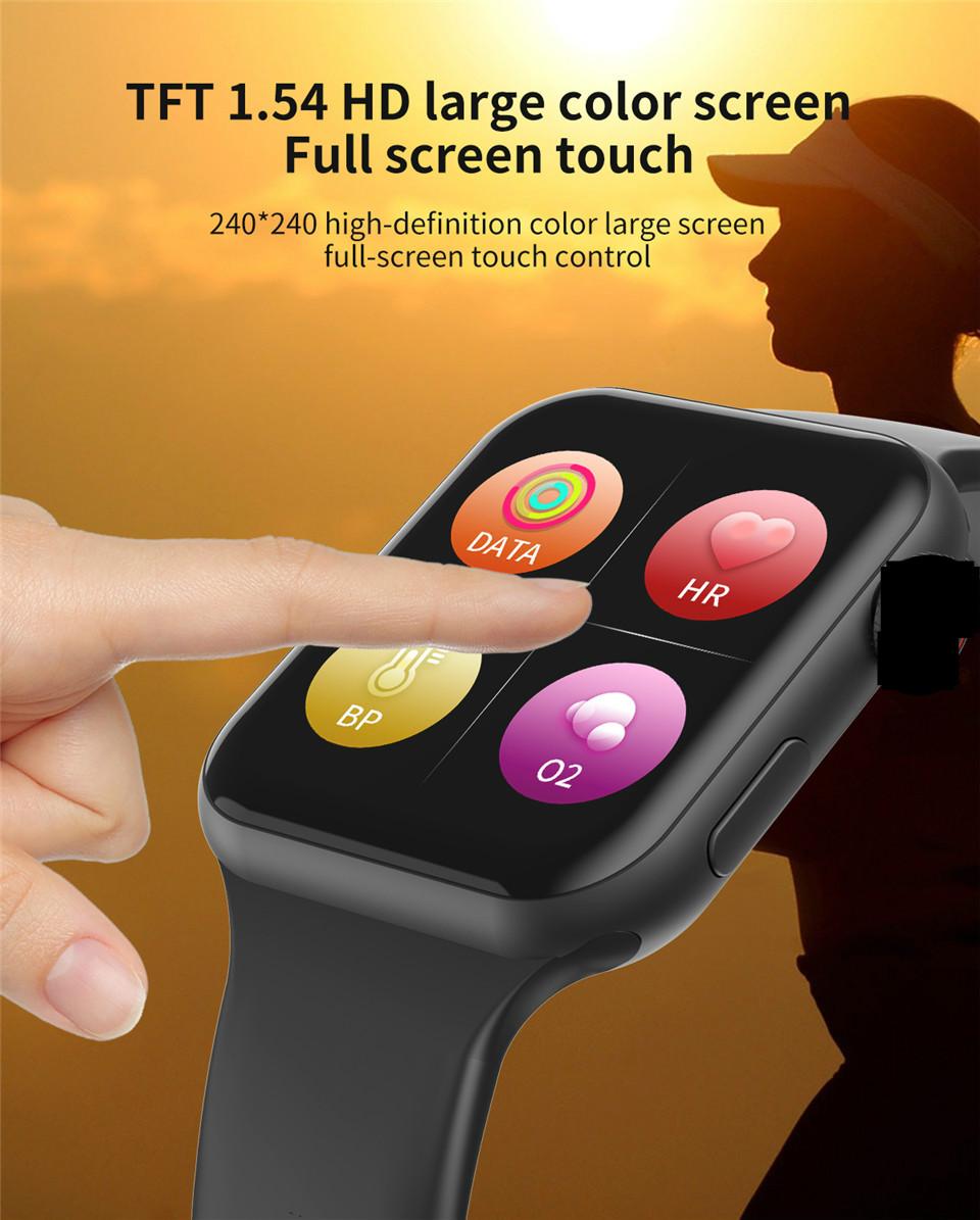 F10 Fitness Tracker ECG pulsera smartwatch 9