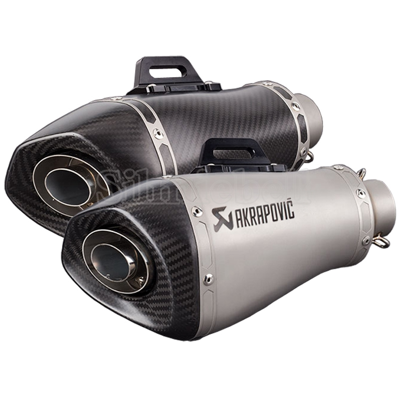 Akrapovic <font><b>Exhaust</b></font> Motorcycle Muffler Scooter Silencer Pipe For S1000RR <font><b>S1000R</b></font> <font><b>Exhaust</b></font> CBR650F CBR500 GSR750 GSXR1000 Z900 Z1000 image