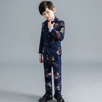 YuanLu New Boy Suits Luxury Formal Suits For Wedding Blazer Coat Toddler Jacket Silm Fit Kids Suit