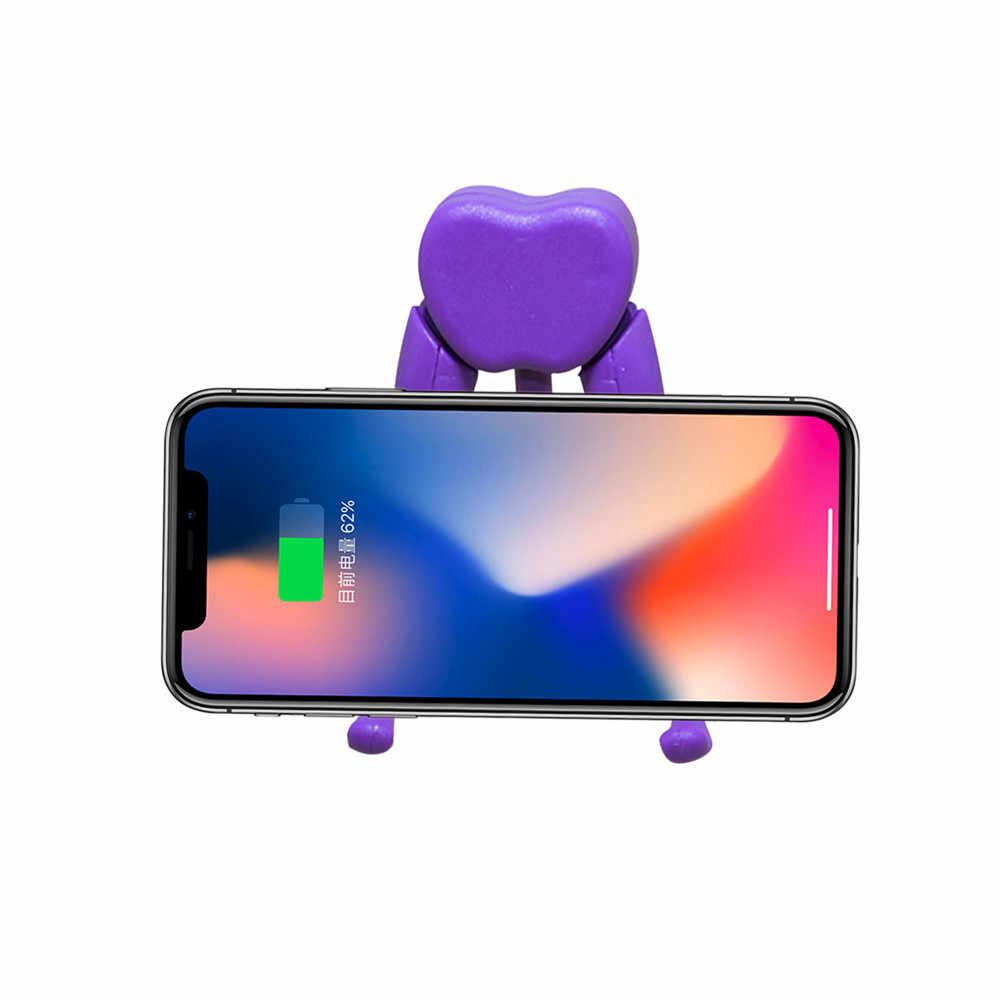 Mobil telefon standı tutucu Dock pratik kullanışlı iPad Tablet için telefonlar için masaüstü tablet cep telefonu evrensel stand
