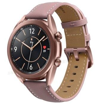 Ремешок для часов кожаный, 20-22 мм 2