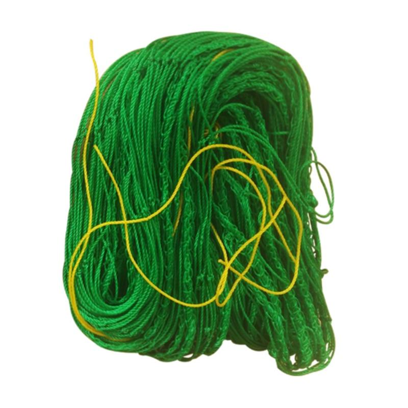 1PC Mesh 10x10cm Mesh Nylon Loofah Net Vines Climbing Net Climbing Nets Vegetables Fruit Nets Gardening Network JQ