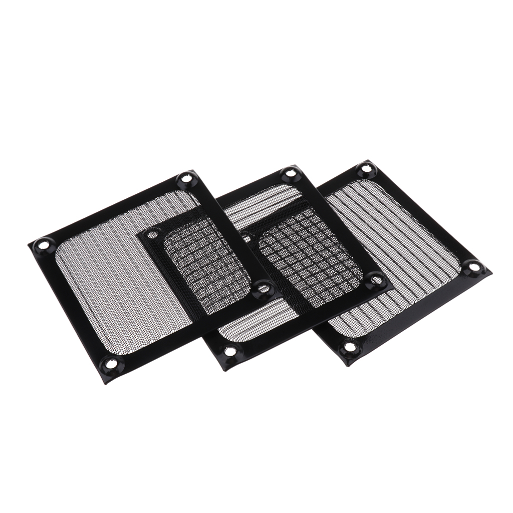 2x Dustproof 40mm Mesh Case Cooler Fan Dust Filter Cover Grill for PC Compu SP