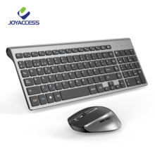 Mouse-Combo Ergonomic-Mouse Slim-Keyboard Spanish Office And Layout Wireless with