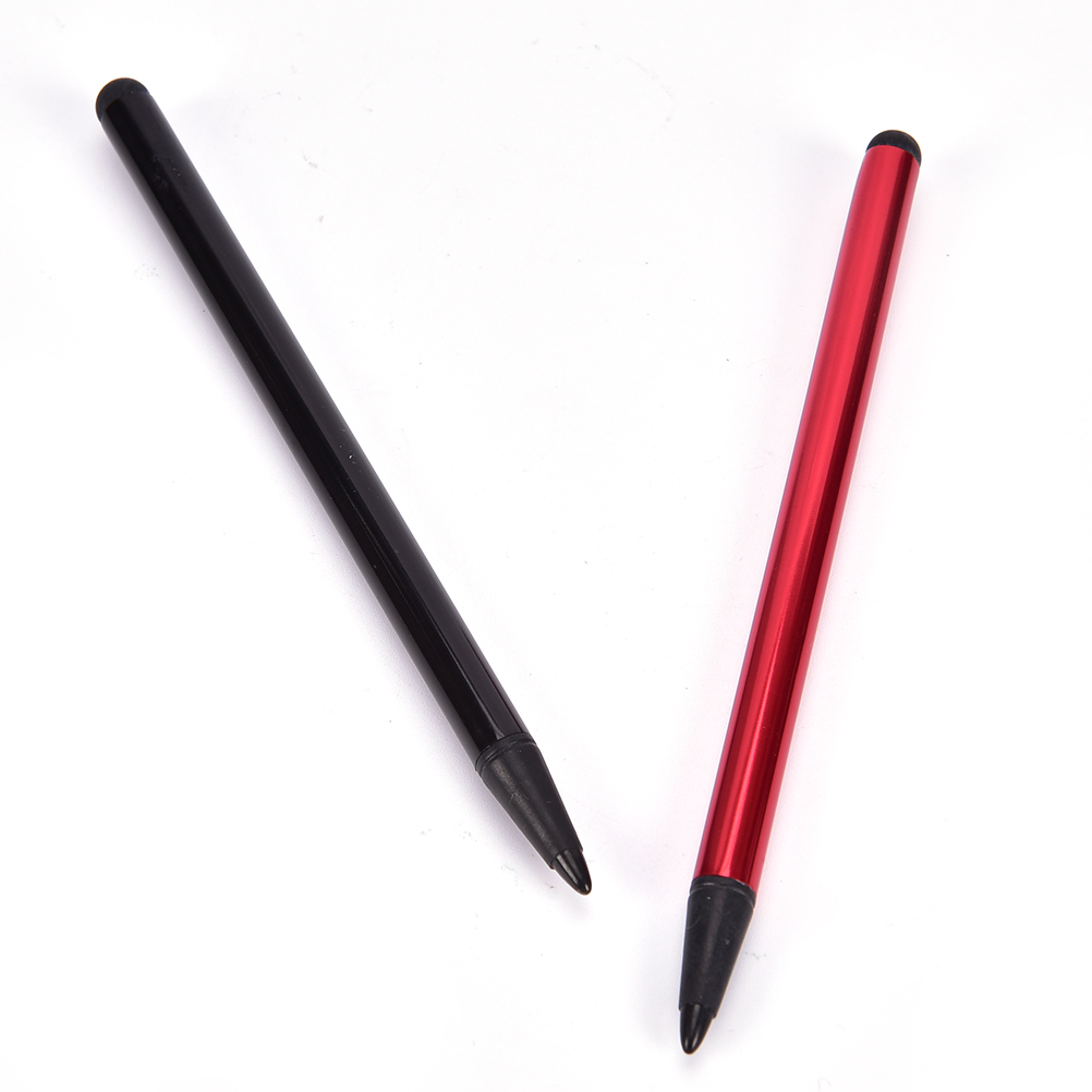 2 In 1 Capacitive Resistive Pen Touch Screen Stylus Pencil For Tablet IPad Cell Phone PC Capacitive Pen Tool Parts