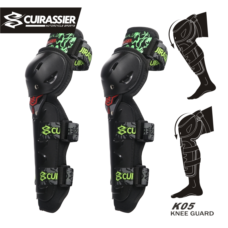 Motorcycle Protective Gear Racing Motocross Knee Pads Protector Armor Guards a