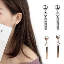 925 Sterling Silver Crystal Earrings Stud Earring for Women Fashion Jewelry Brincos Joyas De Plata 925 aretes de mujer eh1299(China)