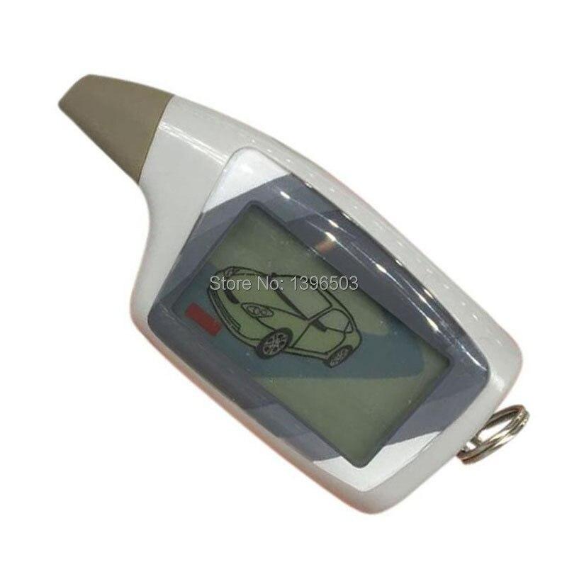 TWO-WAY M5 LCD Remote Control Keychain For Russian 2 Way Car Alarm System Scher Khan M5 Scher-khan Magicar 5 6 Key Chain Fob