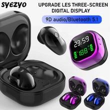 S6 plus bluetooth fone de ouvido música fone à prova dwaterproof água esporte fones para iphone huawei oppo xiaomi tws sem fio