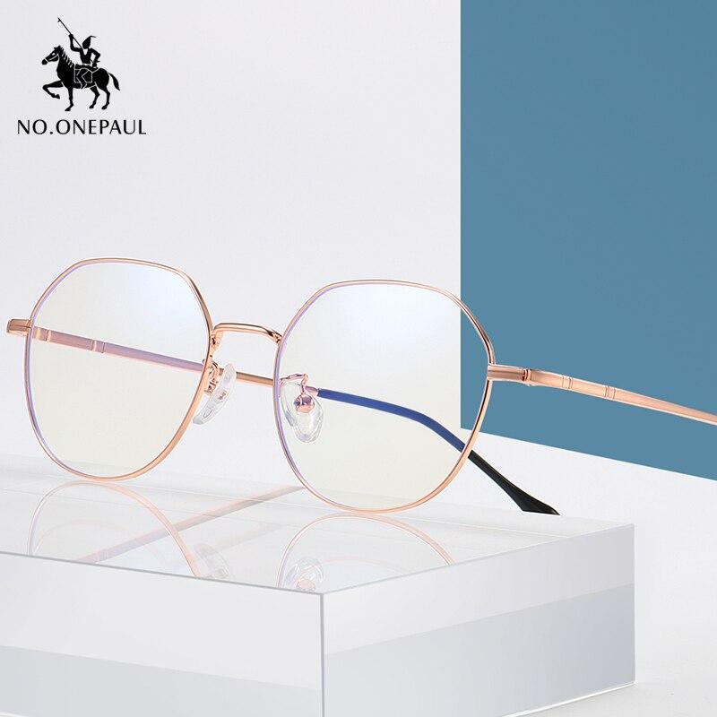 NO.ONEPAUL Protection UV400 Radiation Goggles Spectacles Computer Mobile Phone Glasses Men Women Blue Light Blocking Glasses