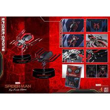 Hot Toys 1/1th Spider-Man Far From Home Spider Drone Life Size LMS011 Figure Toy Cosplay 14cm super hero spider man pvc action figures toys far from home spiderman figure toys spider man collectible model toy kid gift