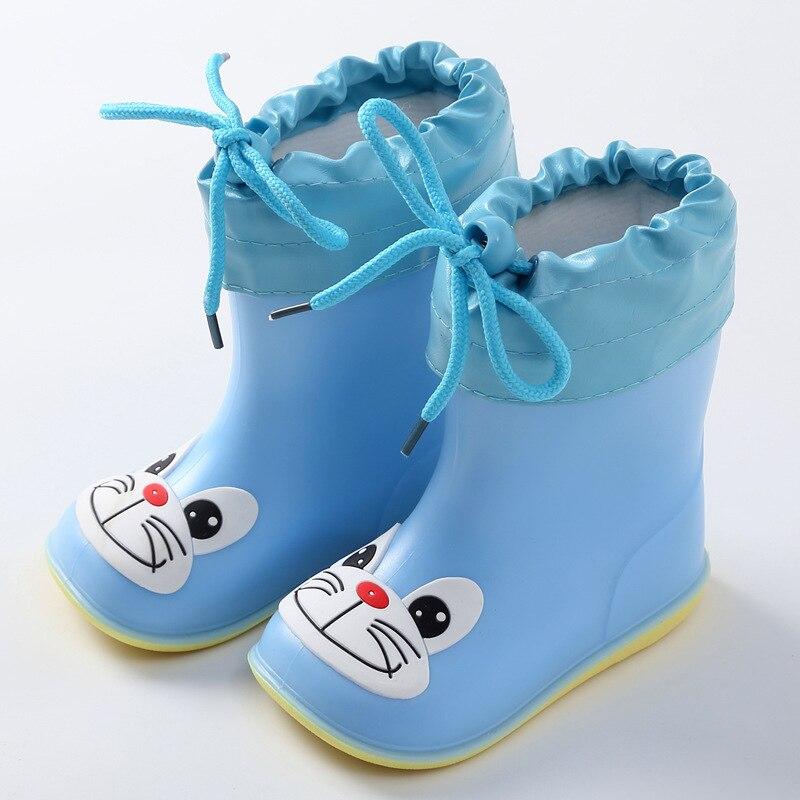 Kalosze dziecięce dla chłopców dziewczęce śliczne buty kalosze wodoodporne dziecięce antypoślizgowe gumowe buty do wody dziecięce kalosze 4 pory roku