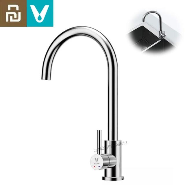 Youpin VIOMI Faucet Kitchen Hot and Cold Dual Control Water Saving Aerator Universal Tube 360 Free Rotation