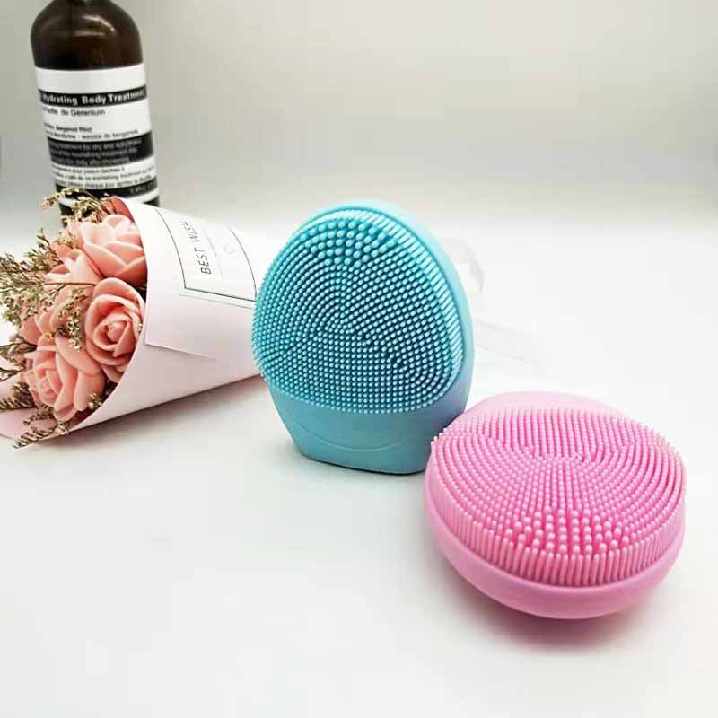 Professional Super Wave Electric Beauty Instrument Pore Cleaner Silicone Facial Cleanser Ion Deep Cleansing Instrument