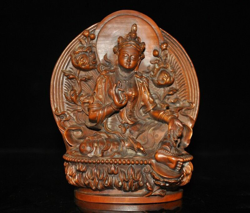 Tibet Buddhism Silk 1000 Arms Avalokiteshvara of Goddess Thangka Thanka Mura R23