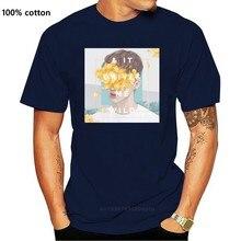 Robeni branco liso algodão troye sivan selvagem azul vizinho camiseta impresso camisa masculina t camisa roupas topo camiseta