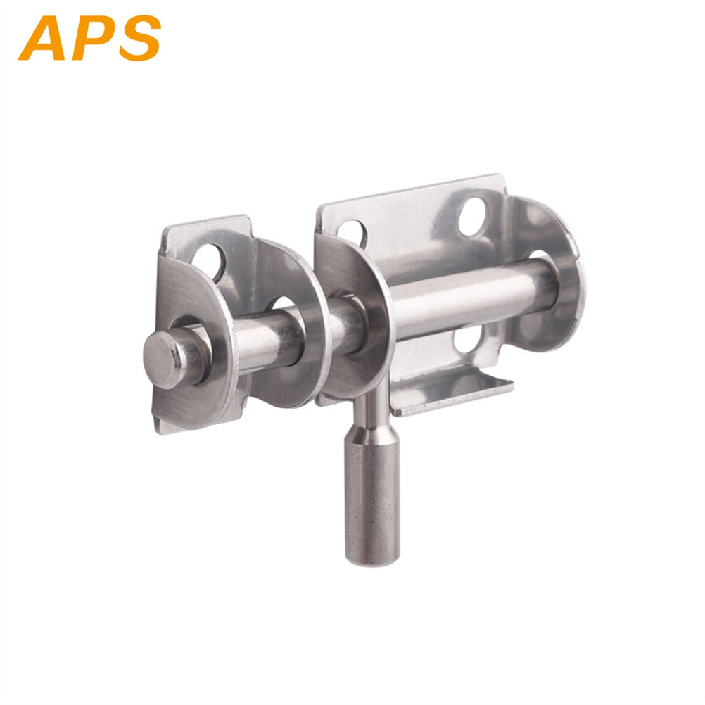 1Pc Slide Bolt Gate Latch Heavy Duty Premium Safety Stainless Steel Barrel Bolt Gate Latch Door Lock Window Latch Door Bolts