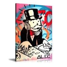 Alec Monopolys Kunst Graffiti, Malerei Leinwand Moderne Kunst Dekorative Wand Bilder Wohnkultur