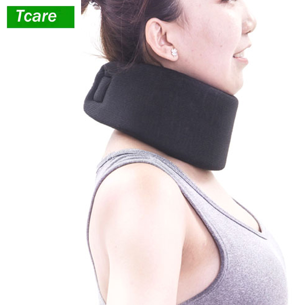1Pcs Neck Cervical Collar Neck Brace Protector Sponge Support Pillows Men Woman Spinal Pain Relieve Travel Orthopedic Cushion