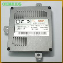 4G0907397P 1pcs Used original OEMHIDS LED ballast A10 02 078 DRL Control Unit for 15 16 C7 7P A1 A3 S3 A6L Q5 yeti 4G0 907 397 P