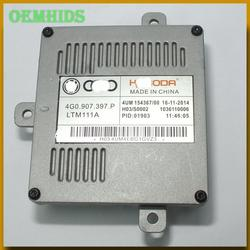 4G0907397P 1pcs Used original OEMHIDS LED ballast A10 02 078 DRL Control Unit for 15-16 C7 7P A1 A3 S3 A6L Q5 yeti 4G0 907 397 P