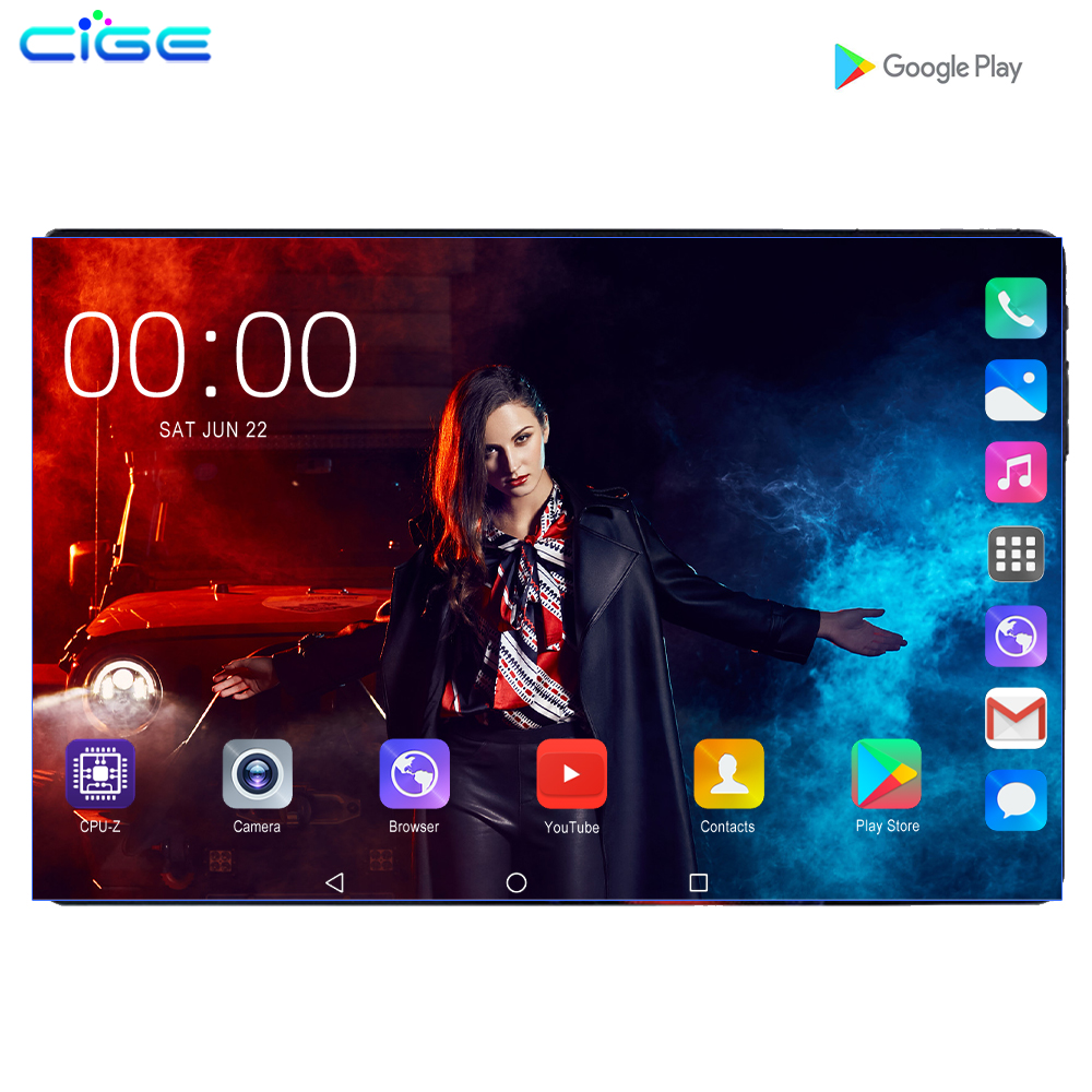 Hot Sale Octa Core 6GB RAM 128GB ROM 10.1 Inch Tablet PC 3G 4G LTE Android 9.0 Wifi IPS 1280x800 Phone Call  Tablet 10