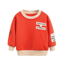 New Autumn 0-4T Toddler Kids Baby Boy Girl Clothes Cute Letter Print Sweatshirts Casual Blouse Long Sleeve Outerwear #m