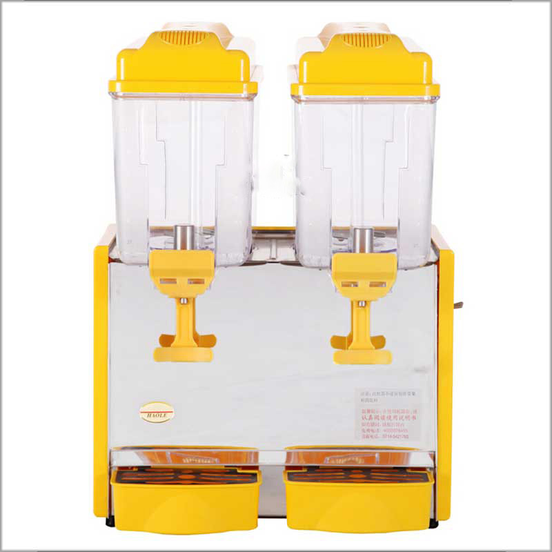 Brand New 2020 Of Factory Wholesale Price 12L Double Tank Ice Frozen Cold Beverage Juice Dispenser