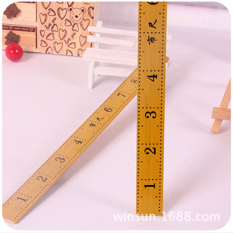 R52 Sewing Wooden Ruler Tailor Amount Of Clothing Chi Tailor Ruler Two Yuan Stall Supply Of Goods Commodity One Yuan The Departm
