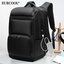 EURCOOL Laptop Backpack Mochila Anti-Thief-Bag Usb-Charging Large-Capacity Waterproof
