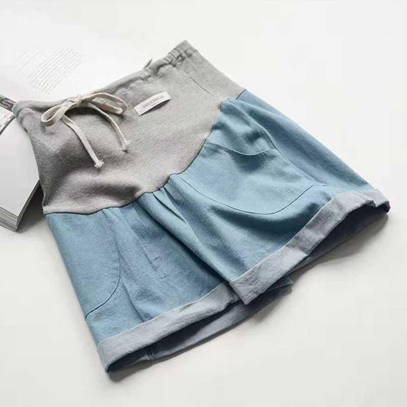 אופנה ג 'ינס הלידה בהריון נשים קיץ דק בהריון הרמת בטן ז' אן יולדות משלוח חינם