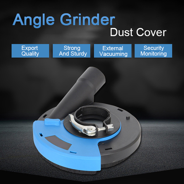 125/180 Mm Universele Oppervlak Slijpen Stof Lijkwade Cover Gereedschap Dust Collector Voor Hand Haakse Slijper Drop Verzending D6