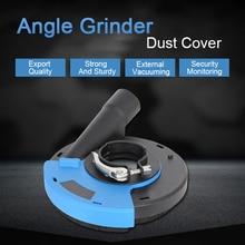 125/180mm אוניברסלי משטח שחיקה אבק תכריכי כיסוי כלים אבק אספן עבור יד זווית מטחנות זרוק חינם D6