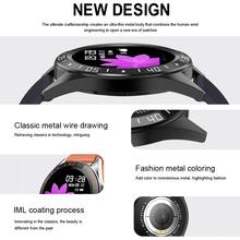 LIGE Luxury Men Smart Watch LED Screen Heart Rate Blood Pressure Multi-Function Monitoring Pedometer Sport Waterproof Smartwatch