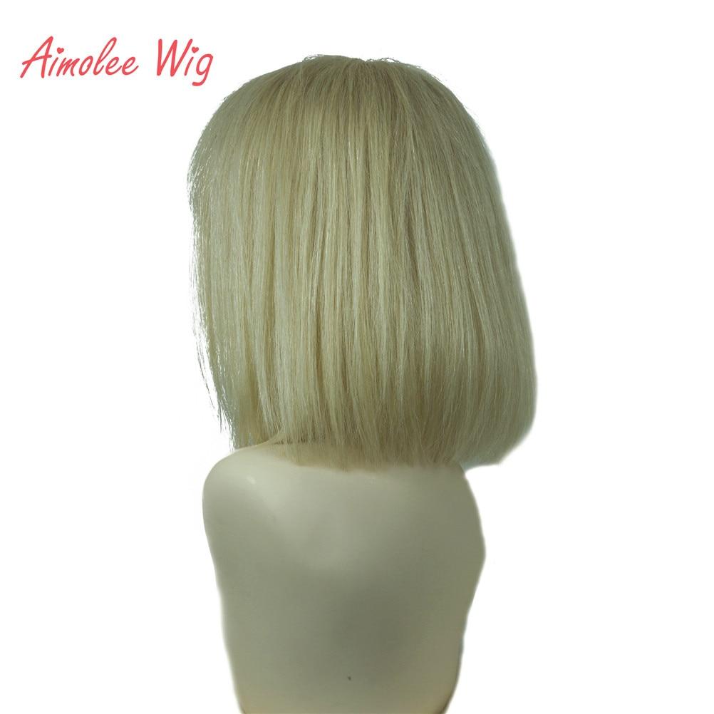 Aimolee peruca de cabelo humano feminino bob