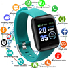 116PLUS Smart Watch Bracelet Color Screen Heartrate Blood Pressure Monitoring Track Movement IP67 Waterproof Smartwatch With App 1