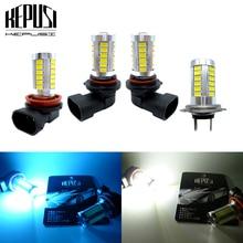 2x H8 H11 H7 9005 HB3 9006 LED Fog Light Lamp bulb Daytime Driving for cars White Ice Blue 12V