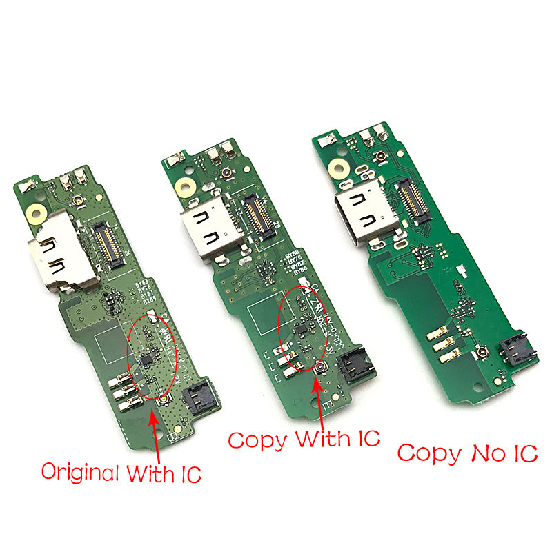 Original New For SONY Xperia XA1 Ultra G3226 USB Dock Connector Charger Charging Port Flex With Microphone Flex Cable
