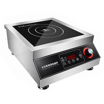 Commercial induction cooker 5000w high-power flat braised meat soup cooker 5kw stir-fry commercial induction cooker