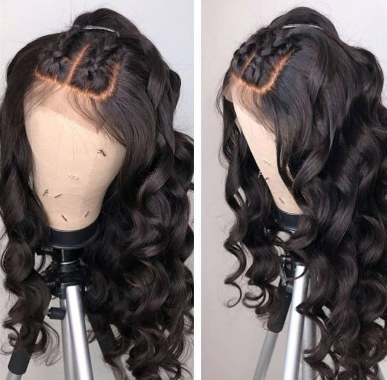 Lace Front Human Hair Wigs Body Wave Fake Scalp Wig For Black Women Pre Plucked With Baby Hair Remy Human Hair Wig 13x6