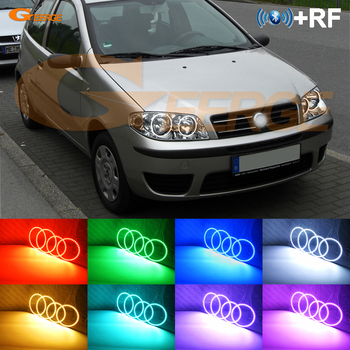 Excellent RF remote Bluetooth APP Multi-Color Ultra bright RGB LED Angel Eyes kit For Zastava 10 188 2005 2006 2007 2008 - ON