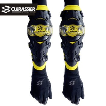 Motorcycle Elbow Protector Cuirassier Kneepad Knee Guards Motocross Downhill Dirt Bike MX Protection Off-Road Racing Pads