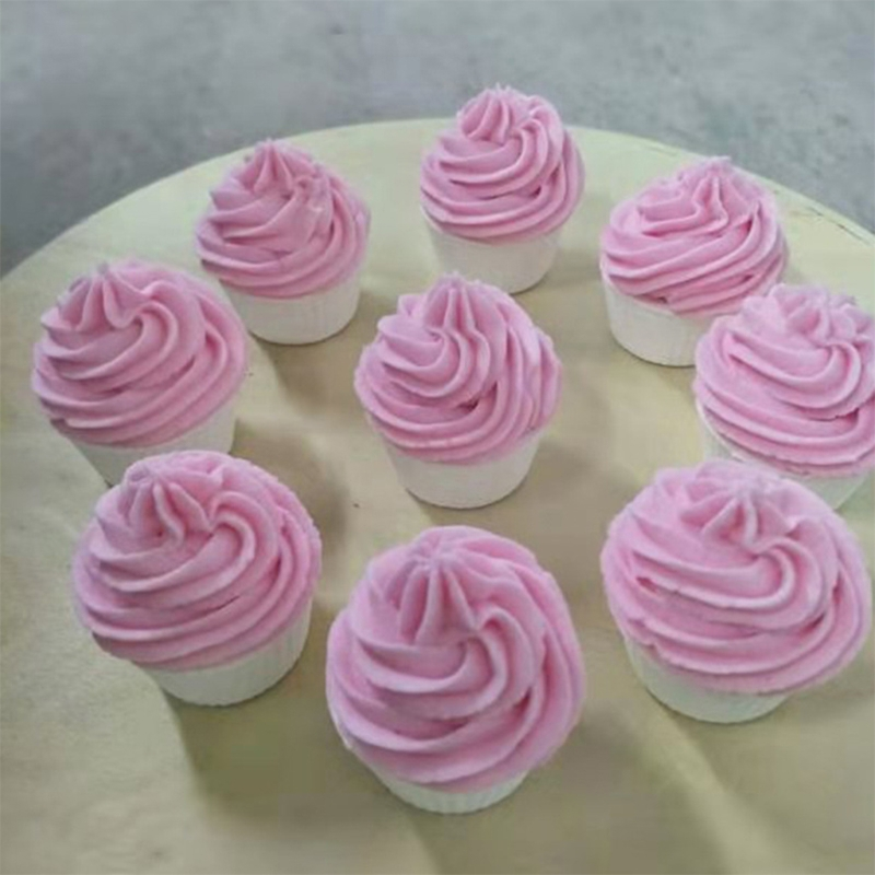 1 ПК торт пузырь ванна бомба натуральный газированный для женщин выделение цвет% 2C аромат% 2C и пузырьки случайный цвет