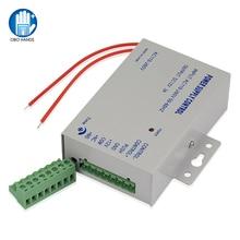 Toegangscontrole Voeding DC12V/3A Output 110 260VAC Ingangsspanning Met Vertraging Voor Elektronisch Slot Video Intercom K80