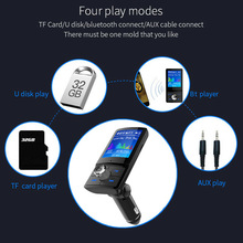 FM Transmitter MP3 Radio Adapter Car Kit USB Car Wireless bluetooth Handsfree MP3 Player Kit FM Transmitter Dual USB Charger nulaxy fm transmitter nulaxy bluetooth fm transmitter audio car mp3 player handsfree car kit with tf card slot dual usb charger