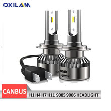 CANBUS H1 H4 H11 H7 LED Car Headlight Bulbs High Low Beam For Audi A3 8P A4 B5 B6 A5 A6 C5 C6 A7 A8 Q3 Q5 Q7 6000K Auto Headlamp(China)