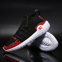 цена на 2019 NEW Casual Shoes Men Breathable Mesh Sport Sneakers Man Zapatilla Calzado Hombre  Men Running Shoes Lace-Up White Shoes