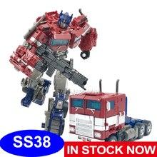 Zabawki figurki akcji AOYI SS38 wersja metalowa oryginalny rozmiar OP Sai gwiazda dowódca ciężarówka deformacja KO transformacja